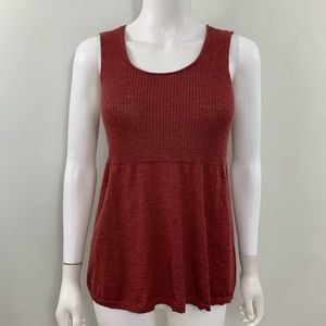 Eileen Fisher Sleeveless Wool Sweater